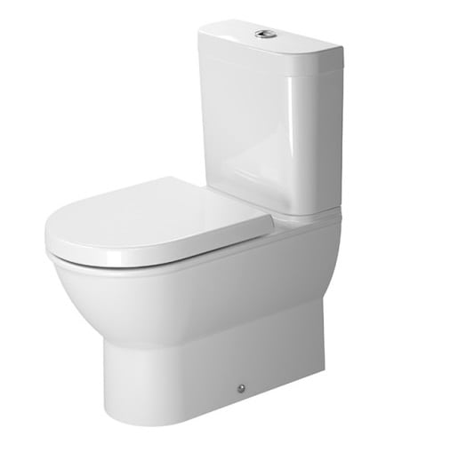Duravit Darling New BTW Toilet Suite - Includes Pan, Cistern, Seat & Connector