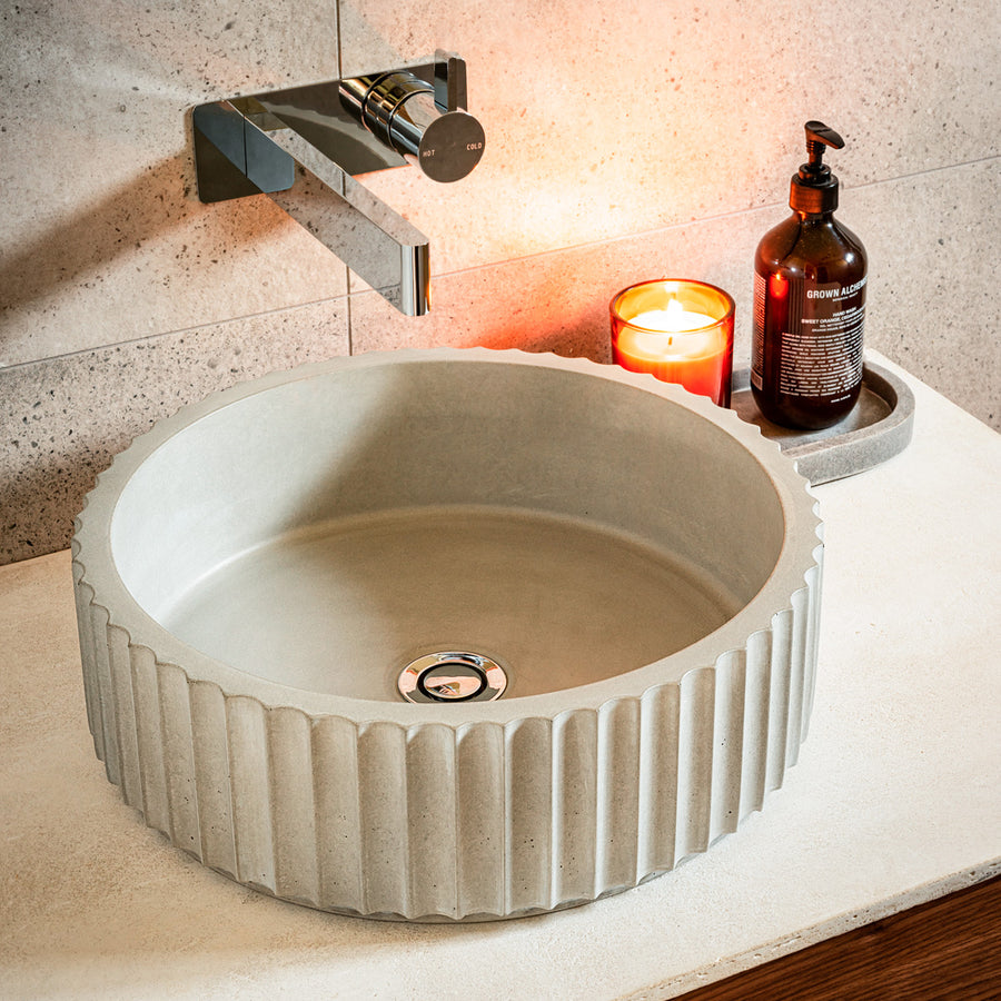 MEEK BATHWARE Doric Basins - Round | The Source - Bath • Kitchen • Homewares