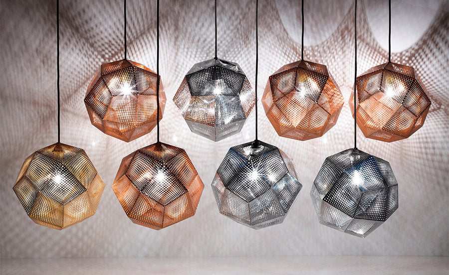 TOM DIXON Etch Steel Light