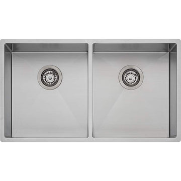 OLIVERI Spectra Double Bowl Stainless Sink | The Source - Bath • Kitchen • Homewares