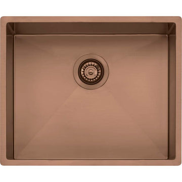 OLIVERI Spectra Single Bowl Copper Sink | The Source - Bath • Kitchen • Homewares
