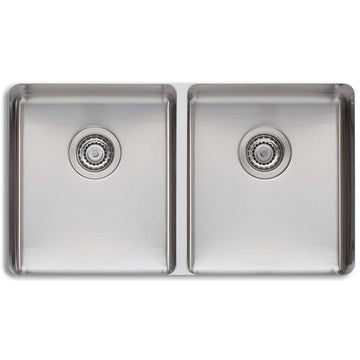 OLIVERI Sonetto Double Bowl Undermount Sink | The Source - Bath • Kitchen • Homewares