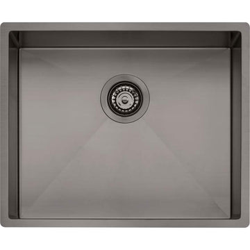 OLIVERI Spectra Single Bowl Gunmetal Sink | The Source - Bath • Kitchen • Homewares
