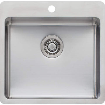 OLIVERI Sonetto Large Bowl Topmount Sink | The Source - Bath • Kitchen • Homewares