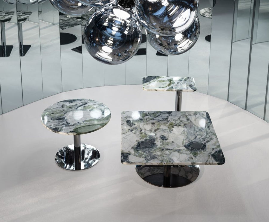TOM DIXON Flash Table Square Chrome | The Source - Bath • Kitchen • Homewares