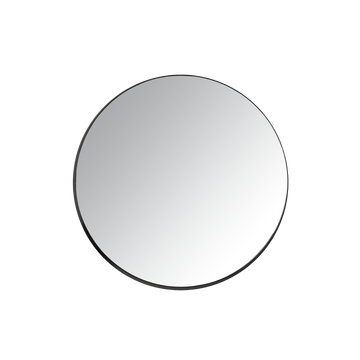 Ex.t Gravity Round Mirror Black