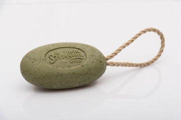 La Savonnerie De Nyons Green Olive Soap On A Rope 220g