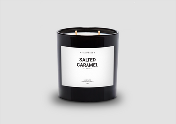 THEMATIKOS Salted Caramel Candle 350g | The Source - Bath • Kitchen • Homewares