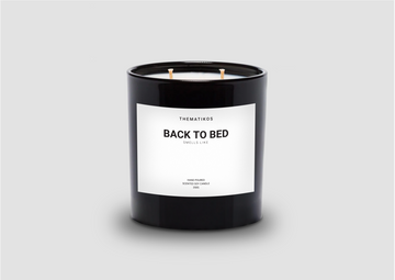 THEMATIKOS Back To Bed Candle 350g | The Source - Bath • Kitchen • Homewares