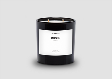 THEMATIKOS Roses Candle 350g | The Source - Bath • Kitchen • Homewares