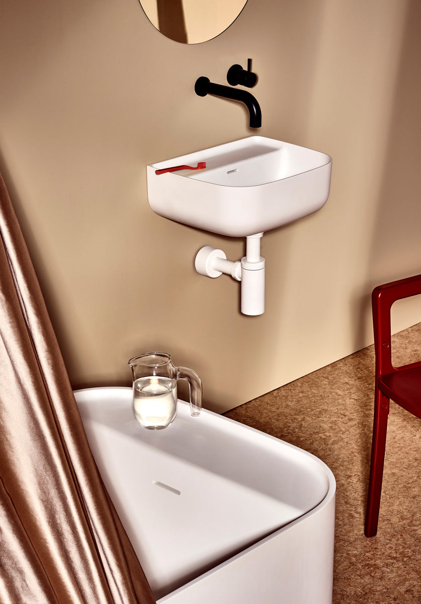 UNITED PRODUCTS Orlo Wall Mounted Vanity Basin by: Nick Rennie | The Source - Bath • Kitchen • Homewares