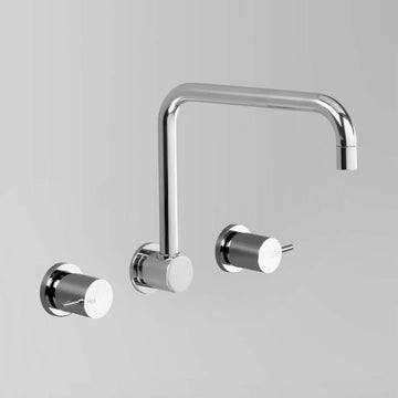 ASTRA WALKER Icon Wall Set with Square Swivel Spout | The Source - Bath • Kitchen • Homewares