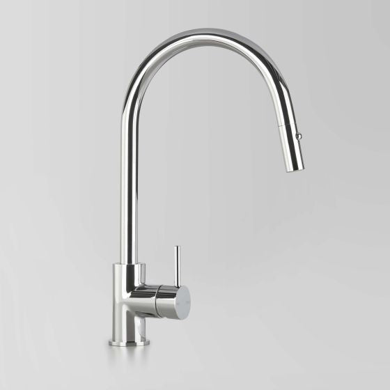 ASTRA WALKER Icon Kitchen Mixer with Gooseneck Pull Out Spray | The Source - Bath • Kitchen • Homewares