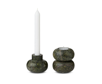 TOM DIXON Rock Tealights (Set of 3)