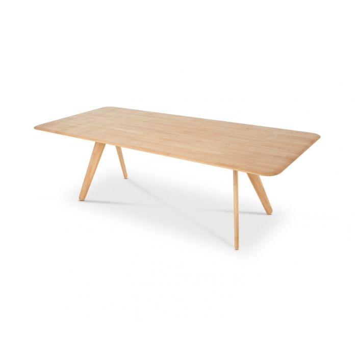 TOM DIXON Slab Dining Table 2.4M Natural | The Source - Bath • Kitchen • Homewares