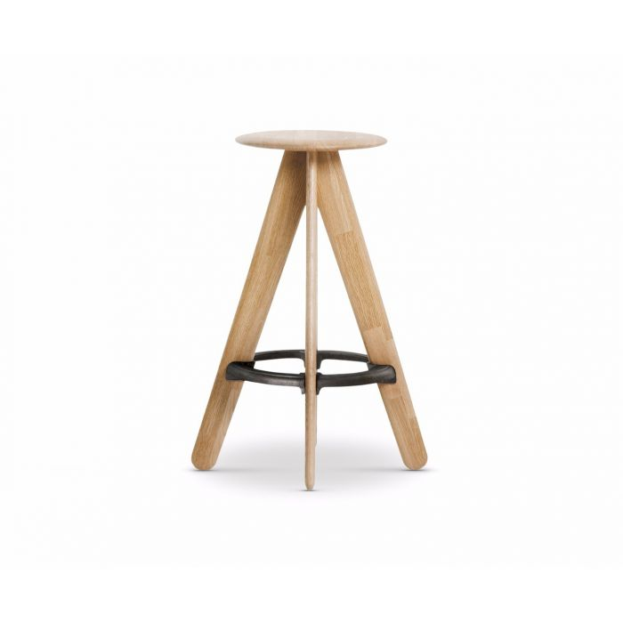 TOM DIXON Slab Bar Stool Natural | The Source - Bath • Kitchen • Homewares