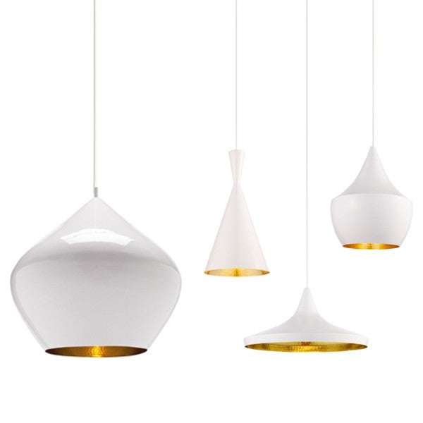 TOM DIXON Beat Wide White