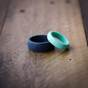 "Women's ""Mint"" Silicone Ring"