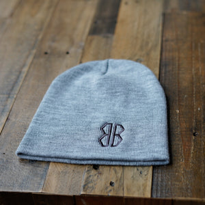 Beanie -Heather Gray
