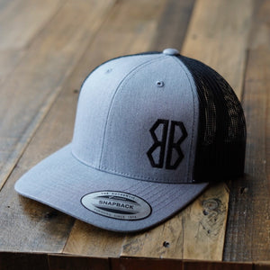 Heather Gray Logo Trucker Hat