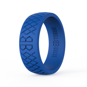 "Men's ""American Blue"" Silicone Ring"