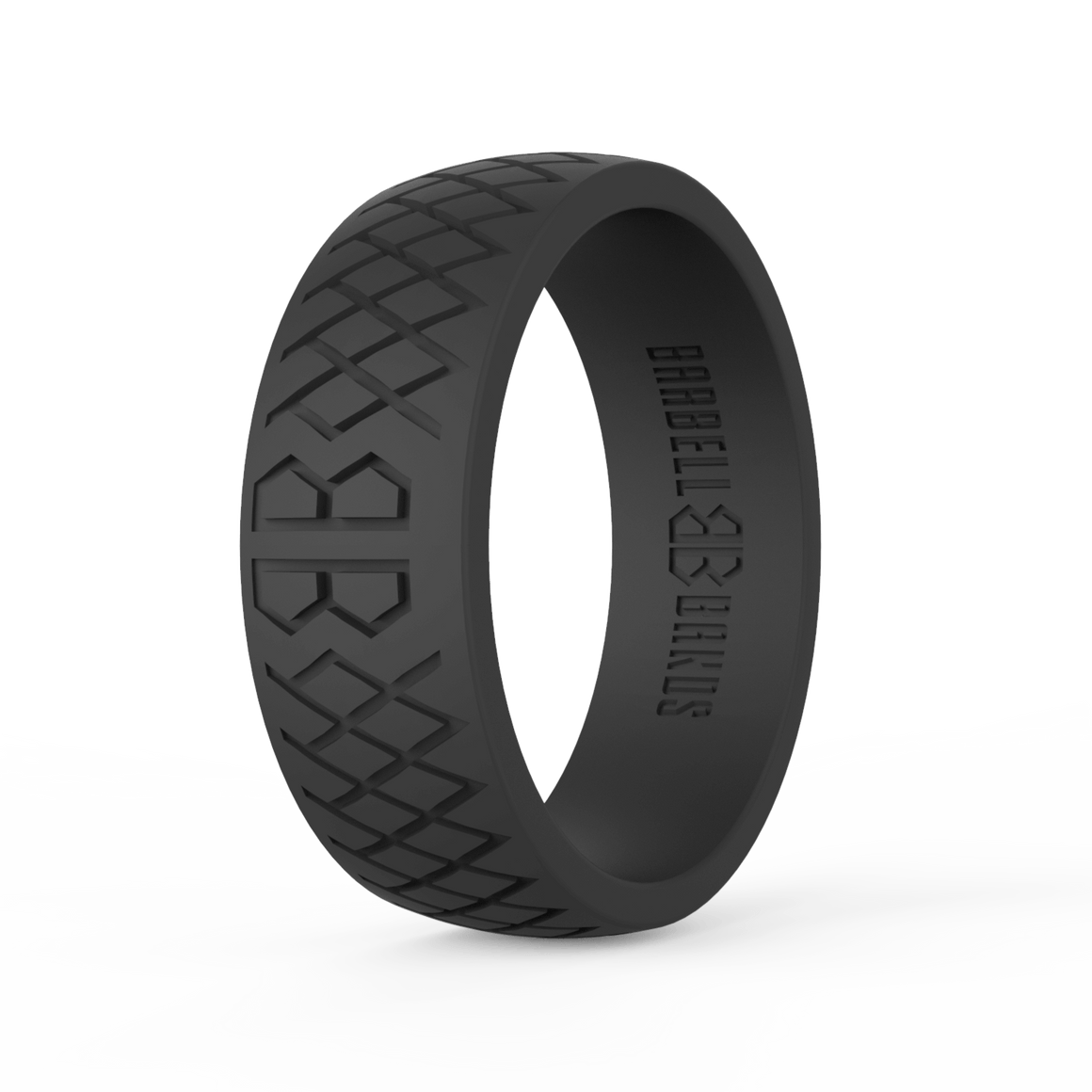 "Men's ""Black"" Silicone Ring"