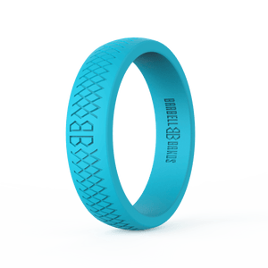 "Women's ""Aqua"" Silicone Ring"
