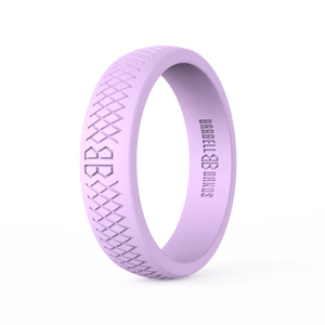 "Women's ""Lilac"" Silicone Ring"