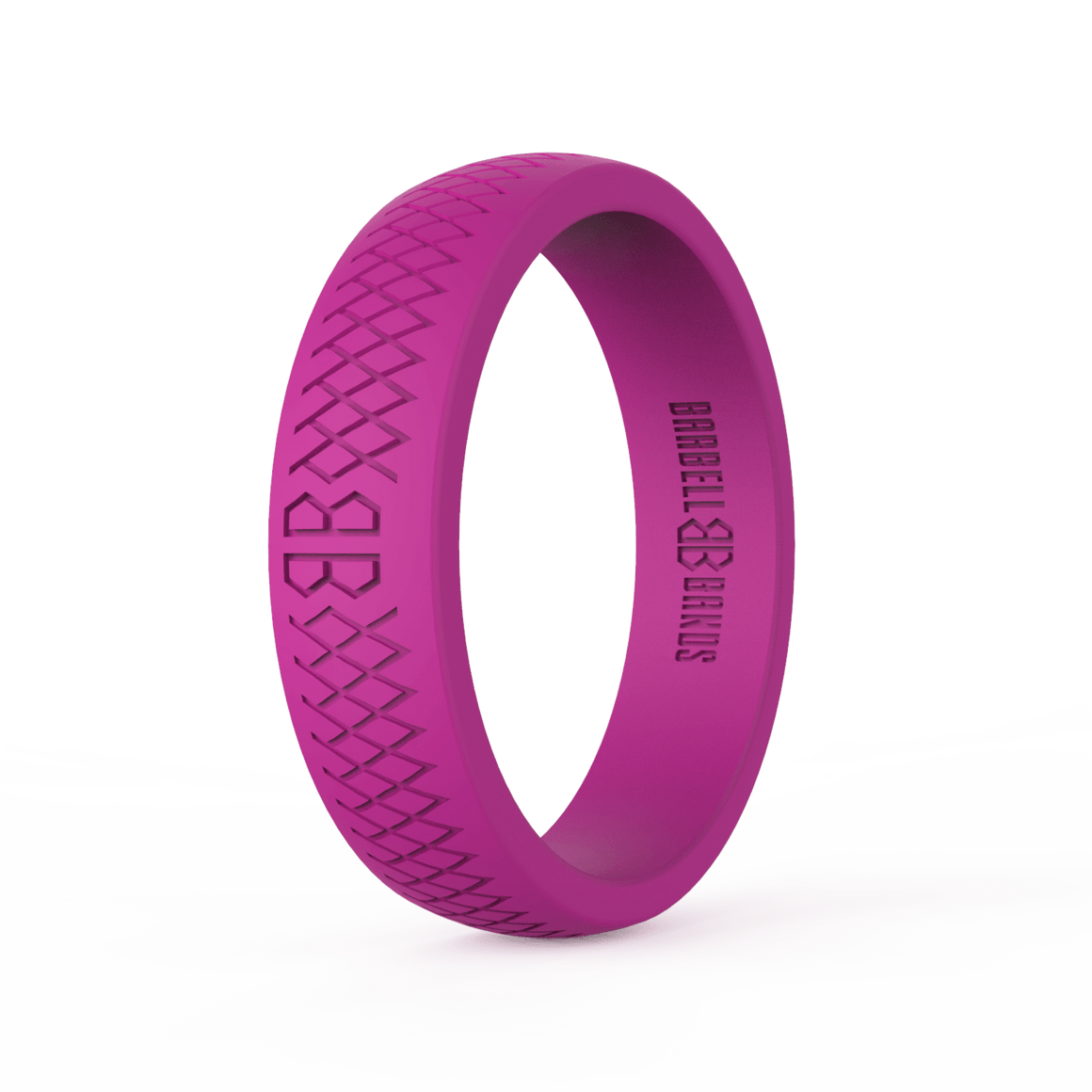 "Women's ""Pink"" Silicone Ring"