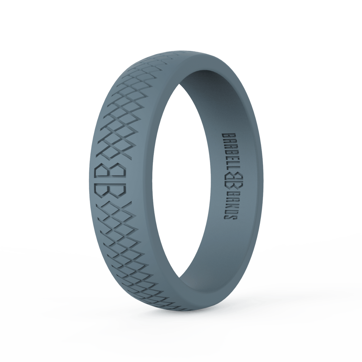 "Women's ""Steel Gray"" Silicone Ring"