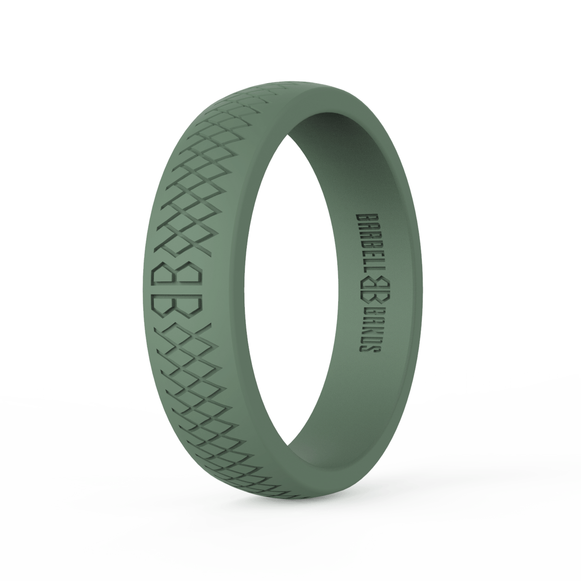 "Women's ""Tactical Green"" Silicone Ring"