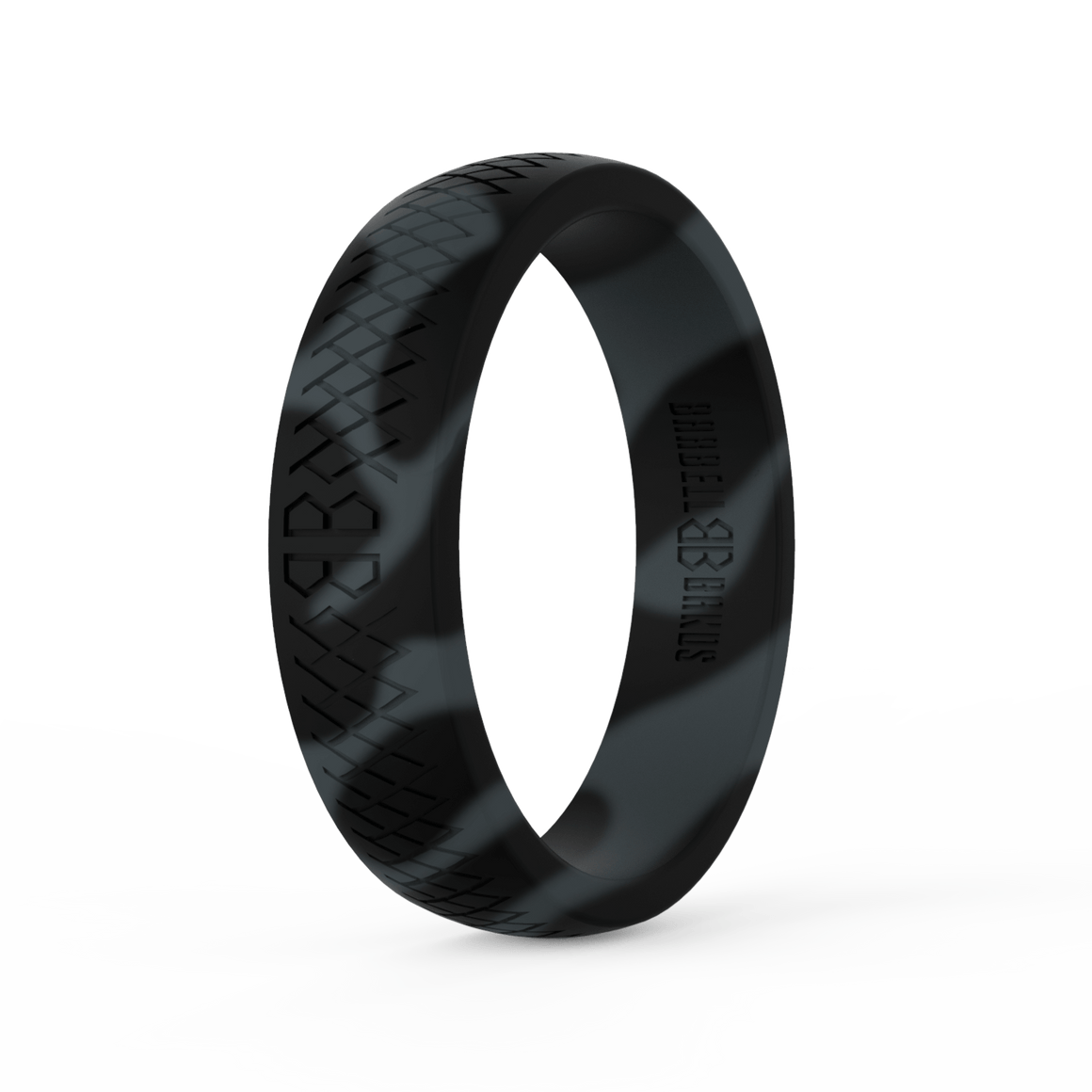 "Women's ""Black Camo"" Silicone Ring"