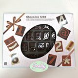 Stampo in silicone choco ice abc per lettere in cioccolato Pavoni
