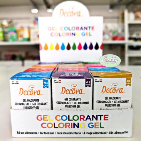 Colorante alimentare in gel da 28 gr in barattolino richiudibile