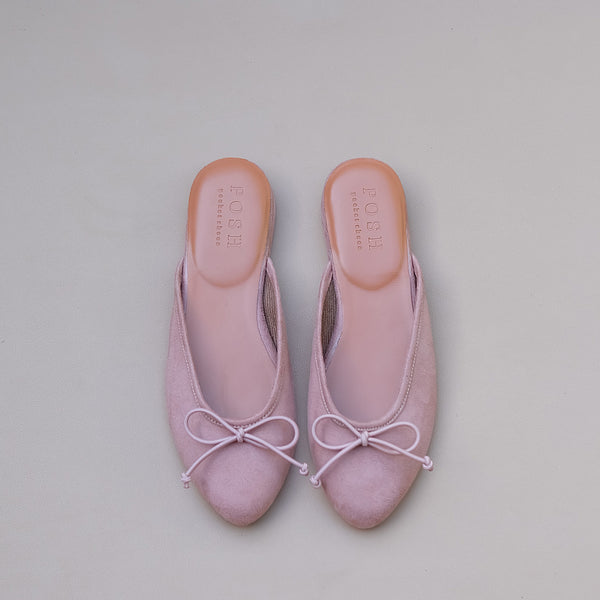 Felipa in Dusty Pink Suede