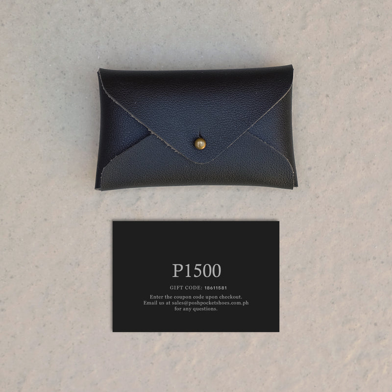 The Gift Card 1500 in Black
