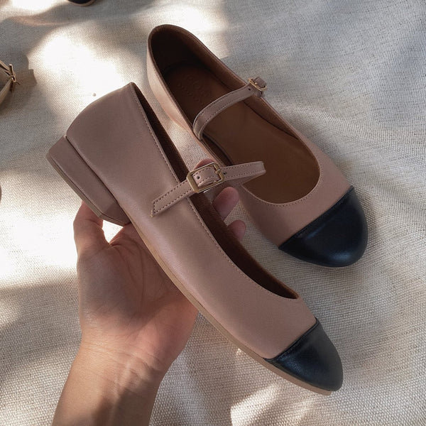 Gabriele in Blush & Black