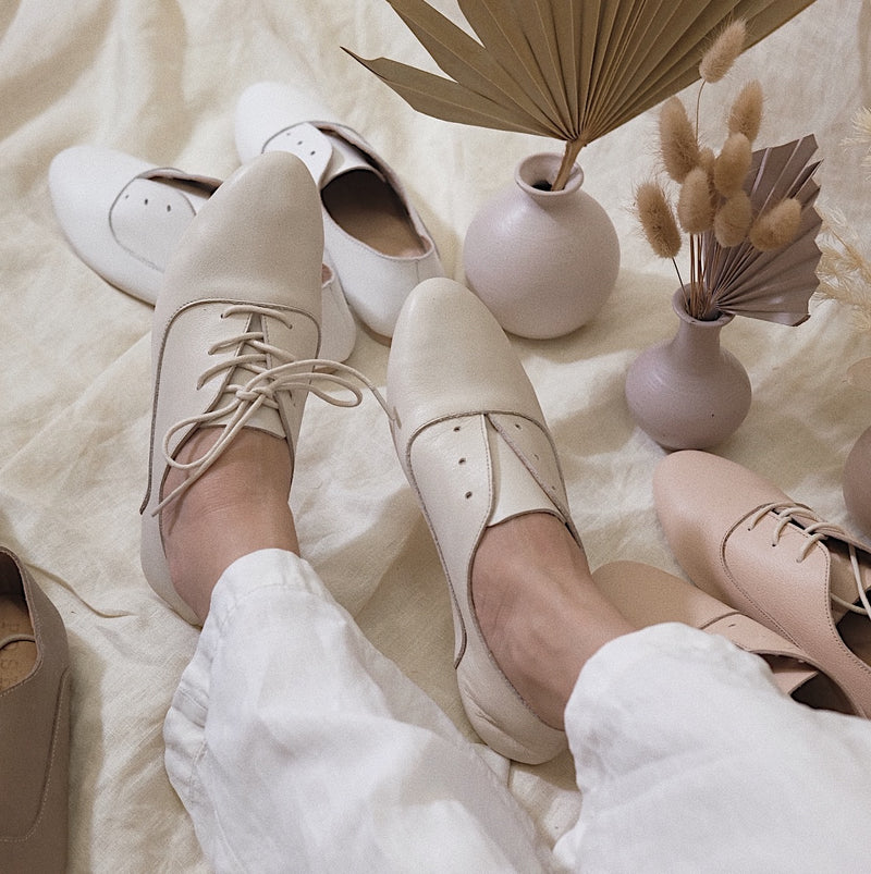 Sunday Shoe in Cream
