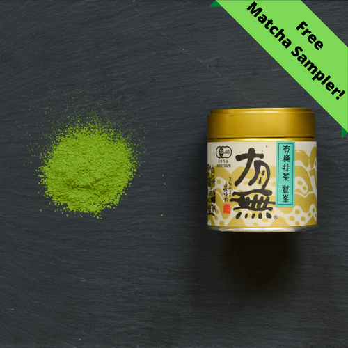 Matcha Washimine with Free Matcha Sampler