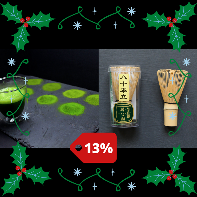New Year's Deal #1 Matcha Sampler + Whisk