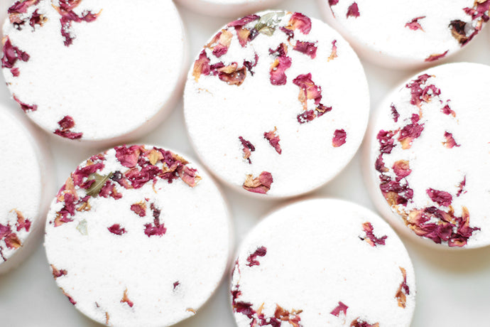 Coco Rose, Natural Bath Bomb - Nat Botanicals