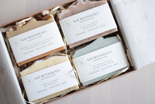 Load image into Gallery viewer, Natural Soap Gift Box (Choose Four)