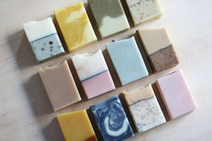 Soap Half Bars [wholesale]