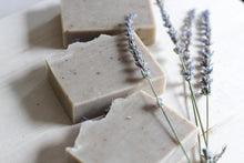 Load image into Gallery viewer, PURE LAVENDER Calming Natural Soap, with aloe vera & botanicals