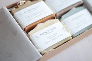 Natural Soap Gift Box (Choose Four)