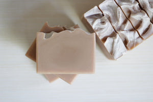 LAVENDER PATCHOULI coconut milk + rhassoul clay, balancing soap (Back in Stock: April 22)