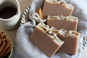 { Pre-Order } Maple & Cinnamon, Coconut Milk Soap - Nat Botanicals