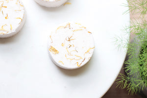 Orange & Ginger Bath Bomb - Nat Botanicals
