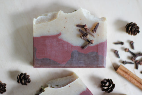 SPICED CEDAR Natural Soap with cedarwood and clove