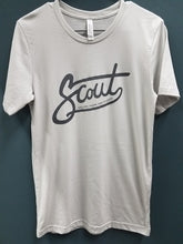 Load image into Gallery viewer, Scout Logo Tee- light gray